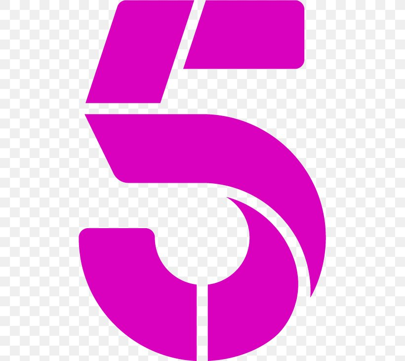 Channel 5 Broadcasting 5USA Terrestrial Television, PNG.
