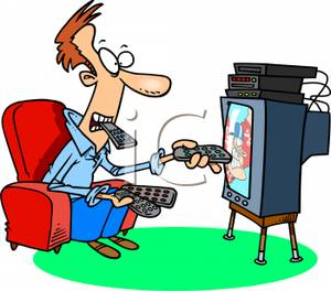 Tv channel clipart.