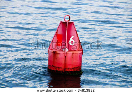 Channel Marker Stock Photos, Royalty.