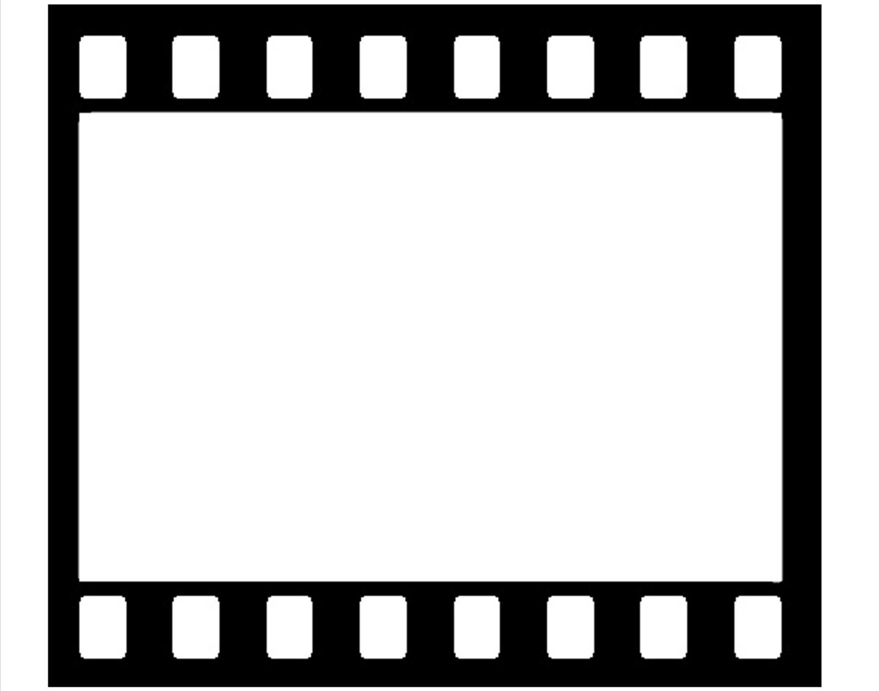 Movie Reel Templates Clipart.