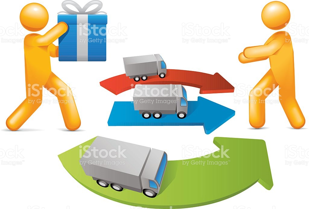Distribution Channels stock vector art 167590796.