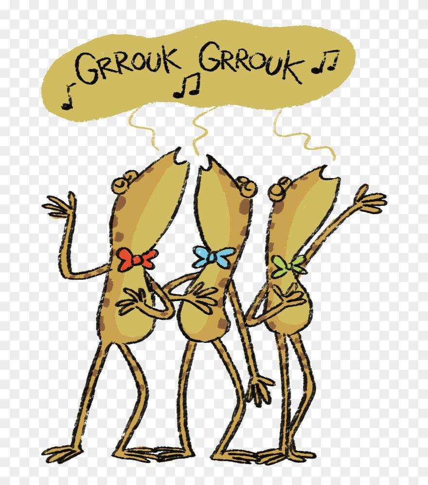 Chanter Avec Les Grenouilles.