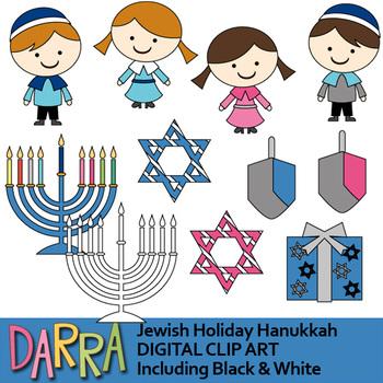 Hanukkah Clip Art (Chanukah clipart).
