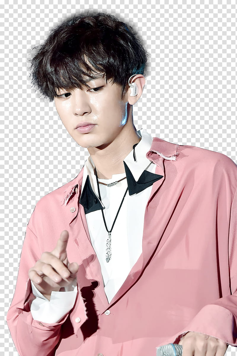 Chanyeol EXO transparent background PNG clipart.