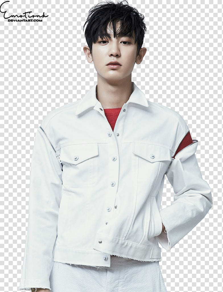 Chanyeol EmotionK transparent background PNG clipart.