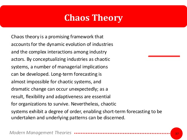Modern Management Theories.