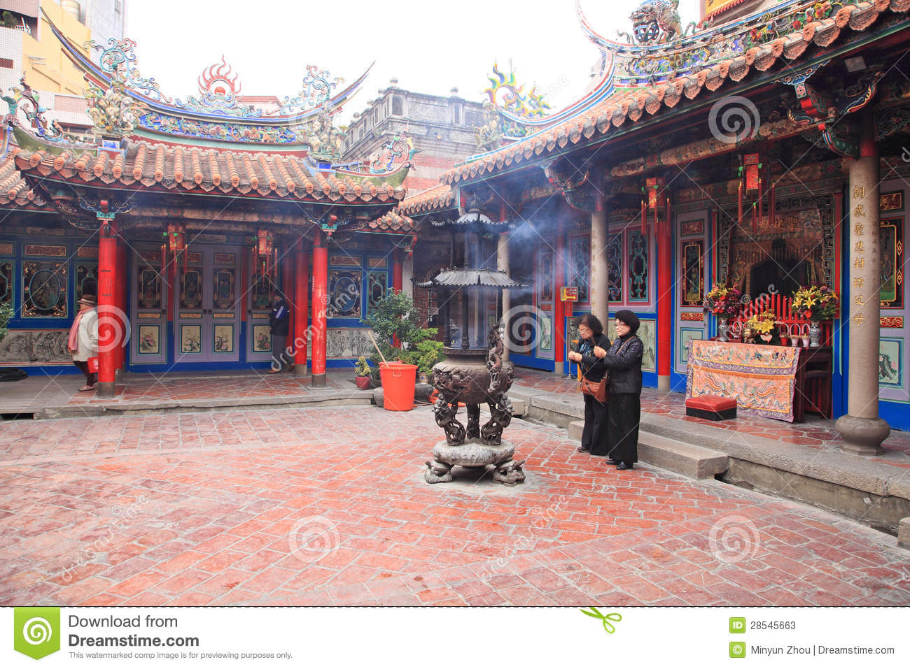 Chaotian Palace.Beigang Editorial Stock Photo.