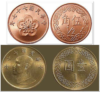 China 1 & 2 & 5 Fen 3 Uncirculated Coin Set • $2.79.