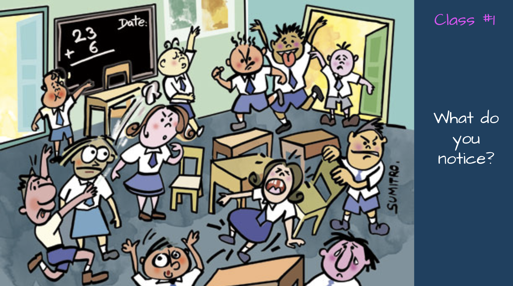 Chaotic Classroom Png & Free Chaotic Classroom.png.