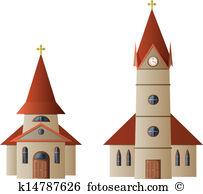 Chapel Clip Art EPS Images. 1,464 chapel clipart vector.