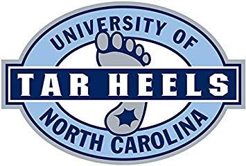 University Of North Carolina At Chapel Hill Tar Heels Logo.