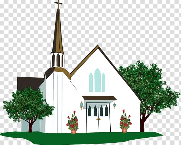 Free church Wedding Chapel , Summer Church transparent background.