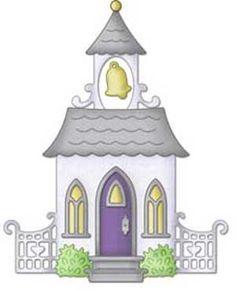 Wedding Chapel Clip Art.