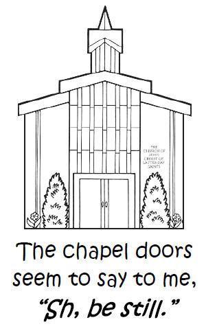 Lds chapel clipart.