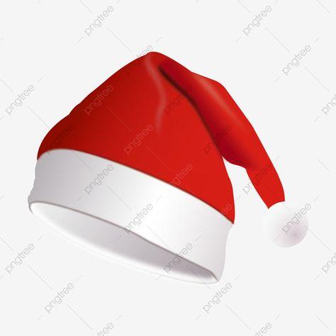 Chapéu De Natal, Natal, Clipart De Natal, Chapéus De Natal.