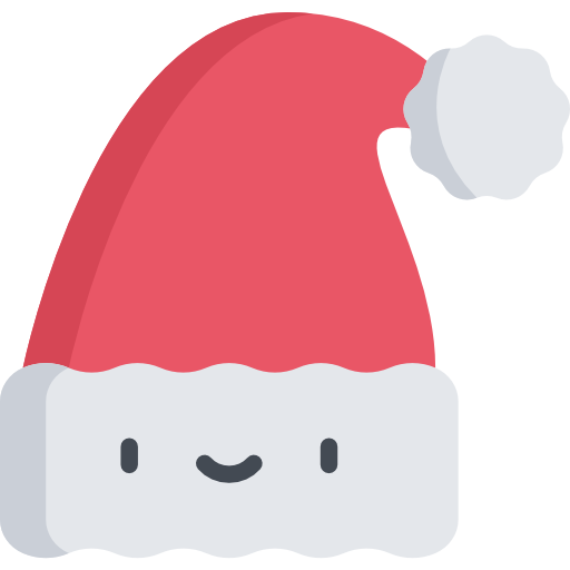 Chapéu de natal.