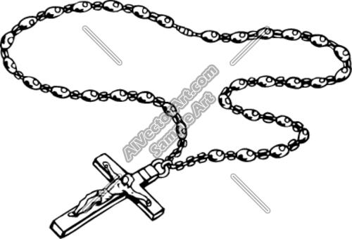 Rosary Clipart.