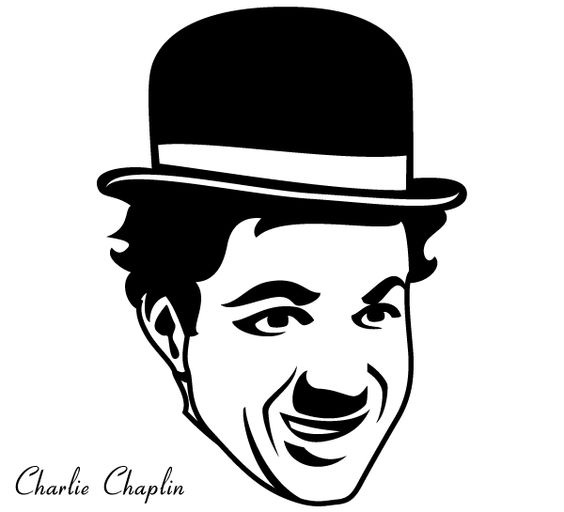 Charles Chaplin Vector Free.