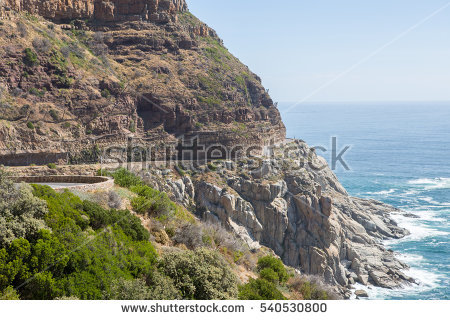 Chapman's Peak Stock Photos, Royalty.
