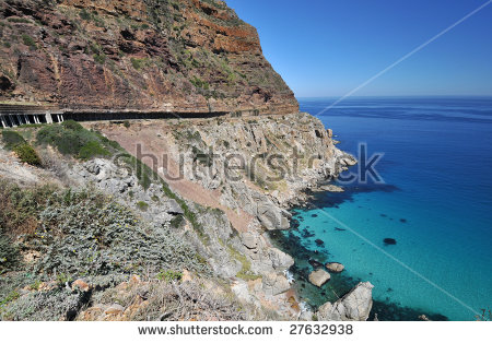 Chapmans Peak Stock Photos, Royalty.