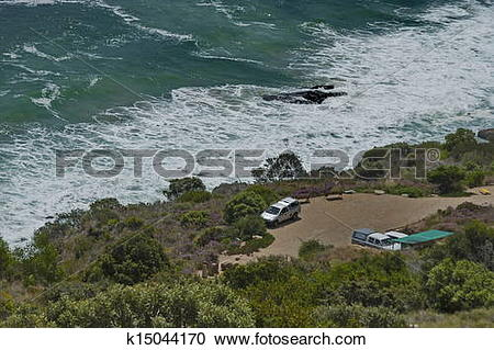 Stock Photography of Chapman's Peak Drive.Place for rest k15044170.