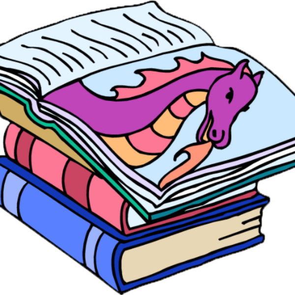 To Be Continuedchapter Book Storytime At Tuxedo Park Clipart.