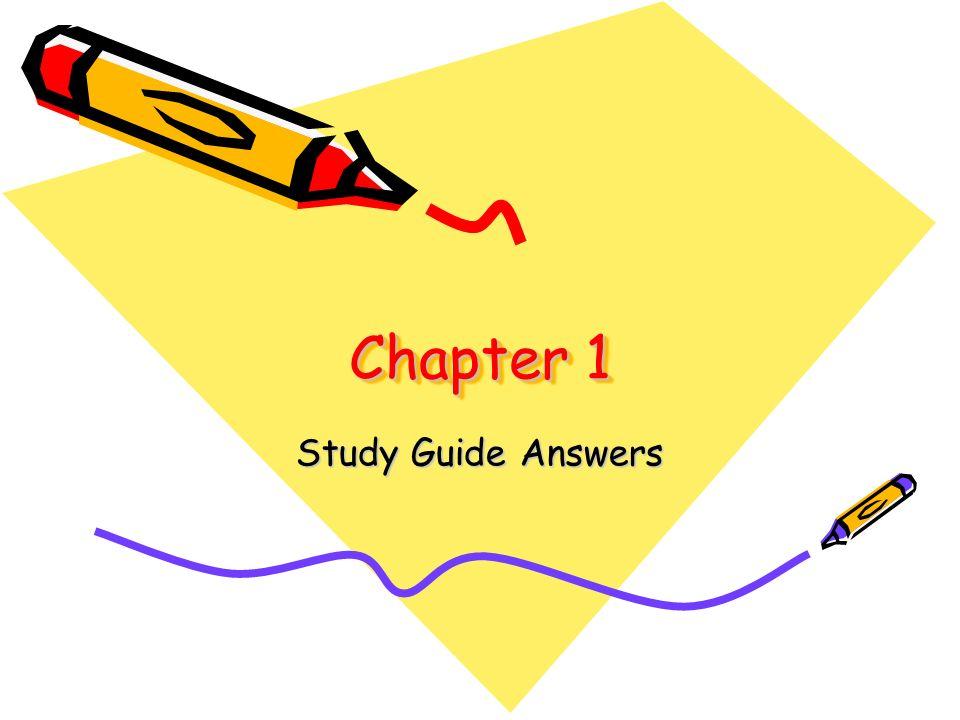 Chapter 1 Clip Art.