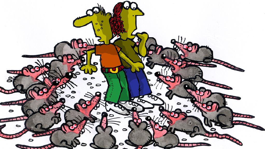 Escape From Thorngate Gall, Chapter 15: Rats!.