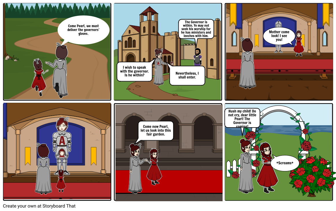 The Scarlet Letter: Chapter 7/ The Governor's Hall.