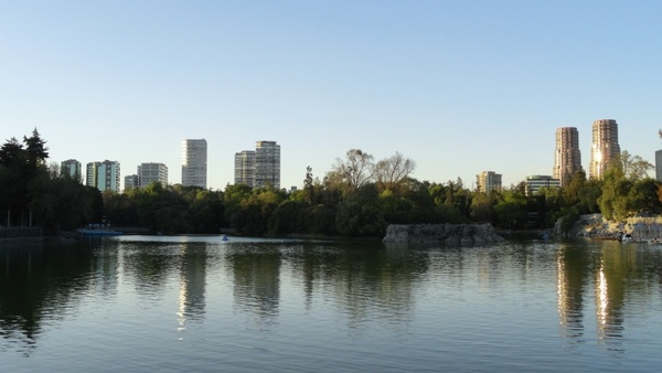 Chapultepec forest lake mexico landscape Free stock photos in JPEG.