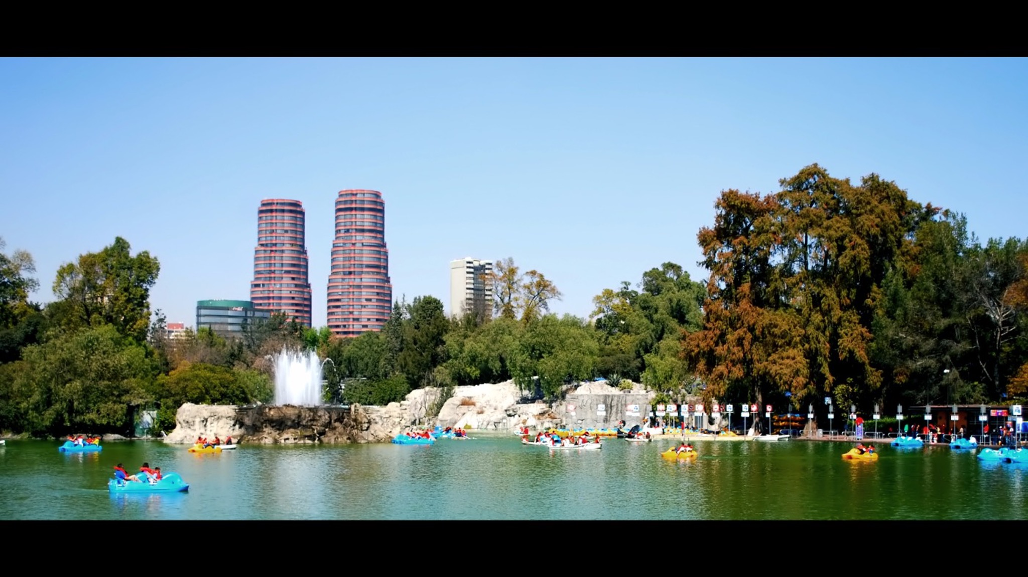 Chapultepec Forest Visual Experience Tour in Mexico City.