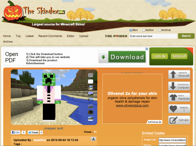 How To: Change your characters on Minecraft Pocket Edition without.