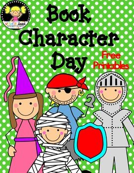 Book Character Day {Freebie}.