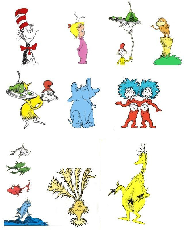 25+ best ideas about Dr Suess Characters on Pinterest.