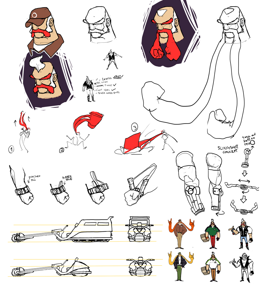 Character development sheet = WIP by marvelleftw on DeviantArt.