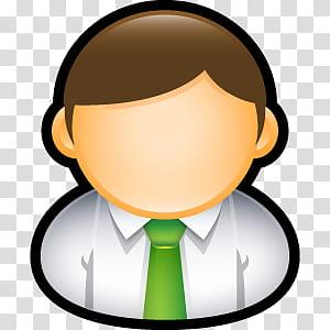 Sleek XP Basic Icons, Administrator, male character icon.