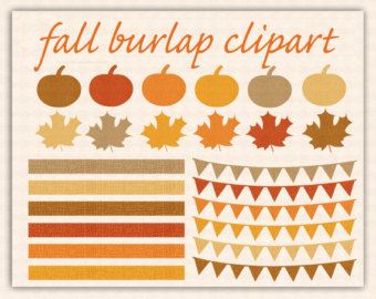 TURKEY CLIP ART Commercial Use Clipart Cute Thanksgiving ClipArt.