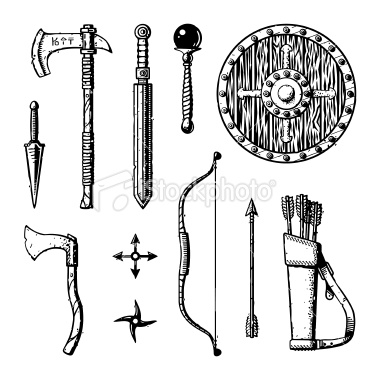 clipart for D&D character sheets.