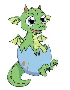 Baby Dragon Clip Art Free.
