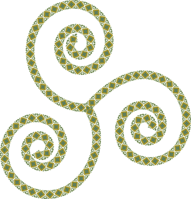 Free photo Rock Steinzeichnung Relief Stone Triskelion.