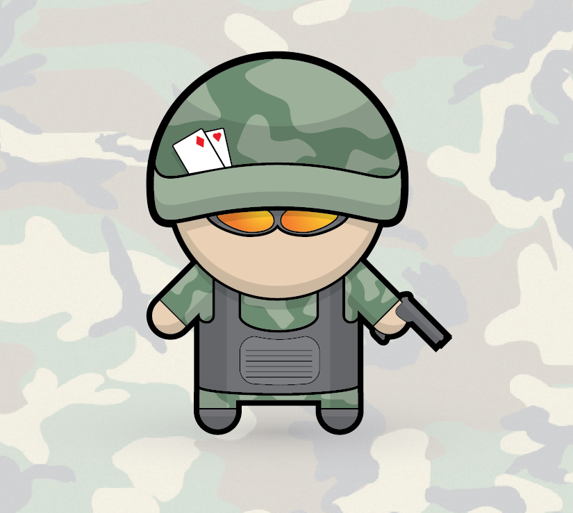 How To Create a Vector Soldier Character in Illustrator.