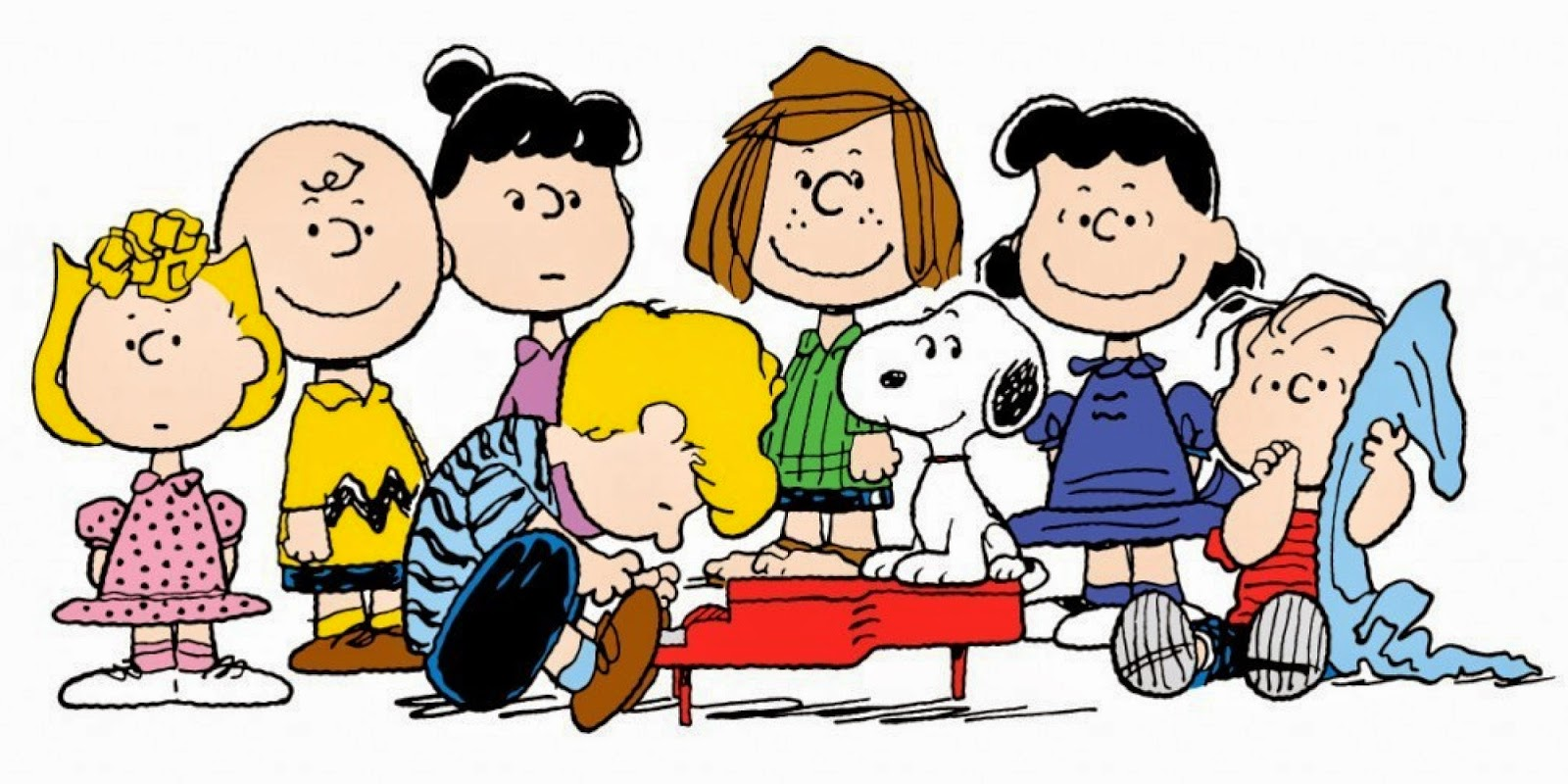 Clipart peanuts characters.