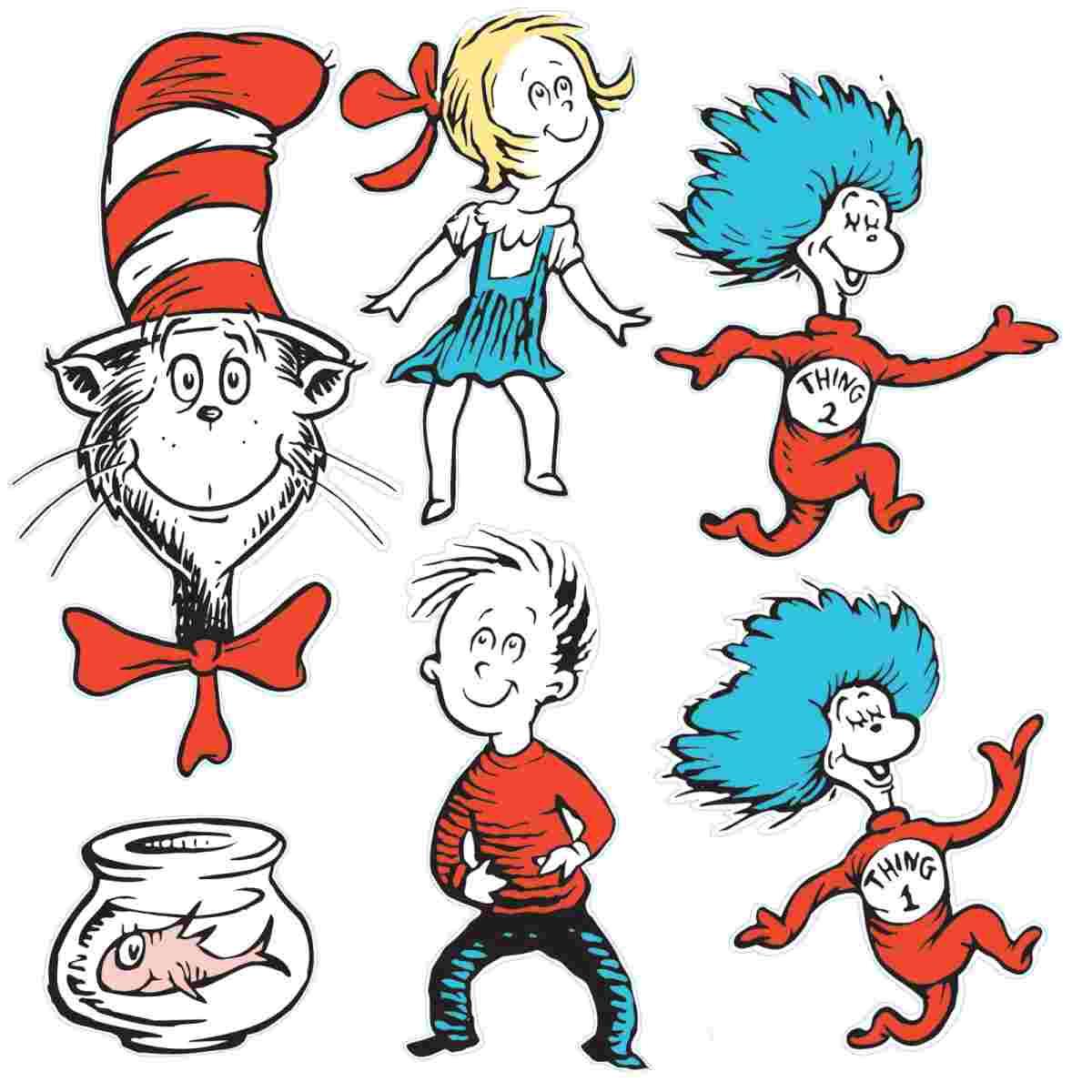Dr Seuss Character Clip Art.