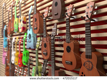 Ukulele Stock Photos, Royalty.