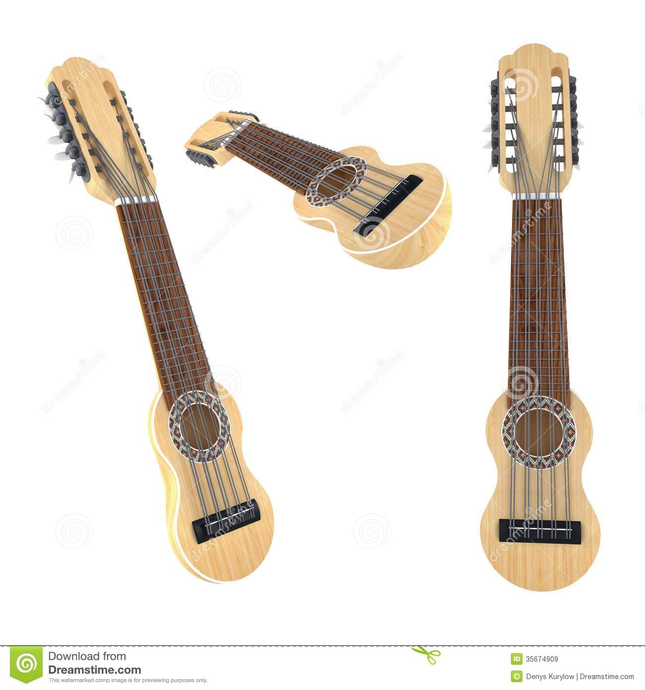 Music Instrument Charango Royalty Free Stock Images.