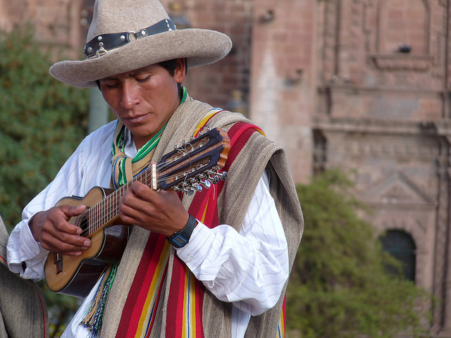 Charango player by Lisa Drake, via Flickr.