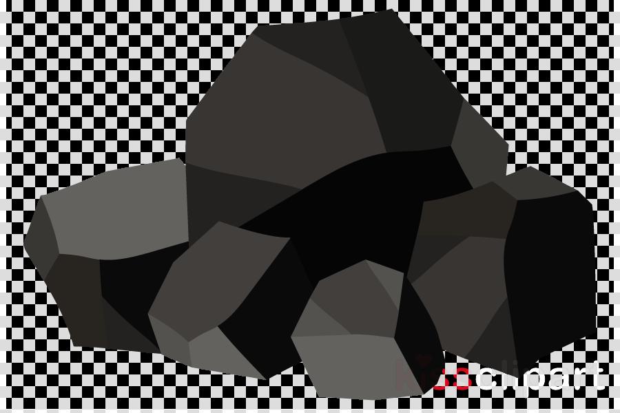 black rock animation charcoal logo clipart.