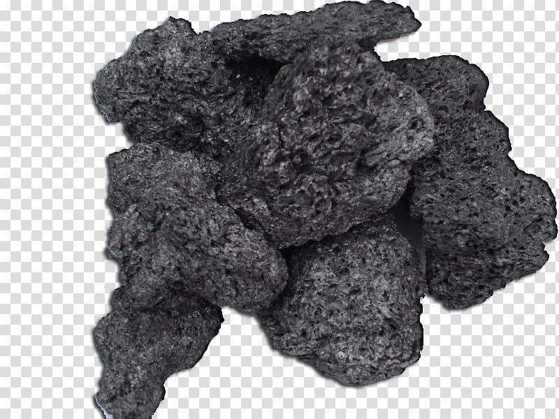 Charcoal Petroleum coke, coal transparent background PNG.