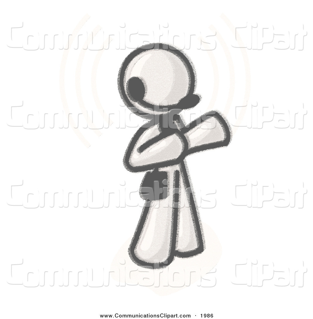 Royalty Free Charcoal Drawing Stock Communication Designs.