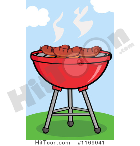 Charcoal Grill Clipart #1.